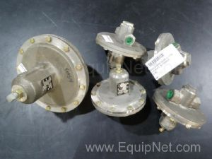 Lot of 5 Fisher Controls Pressure Regulators