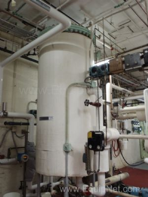 Dearator System with Tank - Heat Exchanger and Pumps  System A