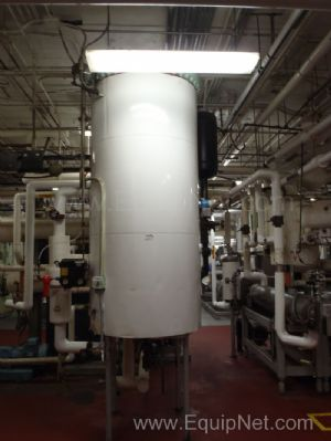 Dearator System with Tank - Heat Exchanger and Pumps  System B
