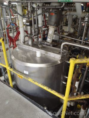 Cherry Burrell 300 Gallon Jacketed Mixing Tank - P71