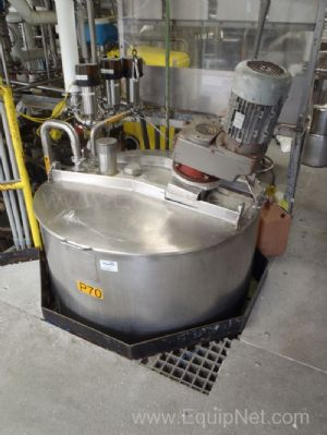 Walker Stainless 300 Gallon Jacketed Mix Tank - P70