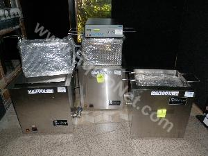 Lot of (2) Sonicor Sonicator Baths with (1) Sonicor Band Scanner Generator
