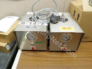 Lot of (2) Perry Model LM-14 Powder Filling Machines