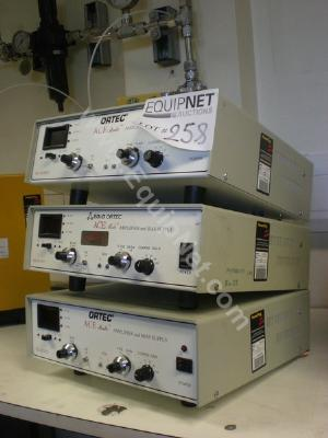 Ortec EG+G ACE Mater 925 Scint Amplifier and Bias supplies