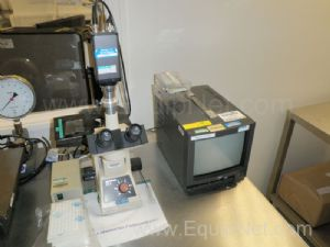 Olympus Model CK2 Microscope With Colour Video Camera and JCV Monitor