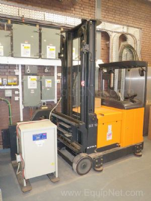 Stihl Model GX10 Warehouse Aisle Guided Fork Lift Truck 1000kg Lifting Capacity and Charger