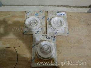 Lot of 3 Neles Jamesbury RKA47TT Repair Kit for Three & Four Inch AF Flanged Ball Valves