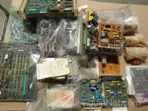 Lot of 23 General Electric Assorted Electronic Parts