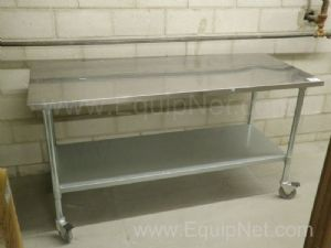 Lot of 3 Stainless Steel Tables