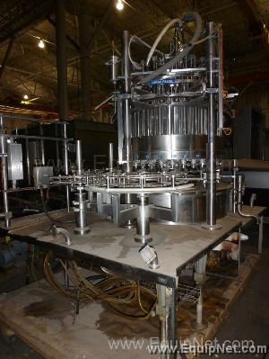Serac 30 head filler Model DT30T30 1080FH+ With Perrier Filler Table