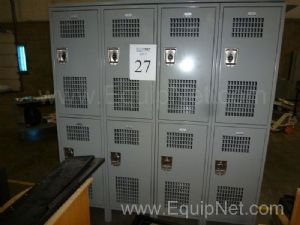 Two Sets Of Lockers