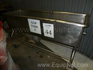Stainless Steel Horizontal Vat