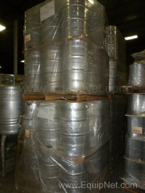 Lot of New 15 Gallon Stainless Steel Pails