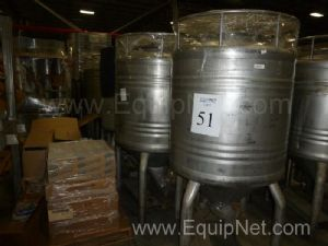 Lot of 7 200 Gallon Stainless Steel Tanks