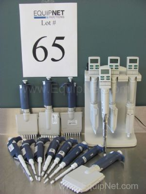 Lot of (15)Assorted Rainin Pipets