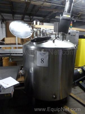 Stainless Fabrication Inc. 300 Gallon Stainless Steel Jacketed Vessel