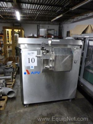 APV High Pressure 300 GPH Homogenizer Model APV 15P-403P