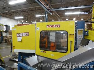 Reed Injection Molding System Model 300 TG 300 Ton