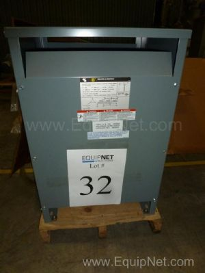 Square D Company Three Phase General Purpose 45 KVA Transformer NIB