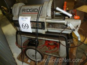 Rigid Tool Company 1224 4'' Pipe Threading Machine