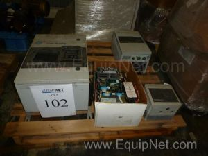 Lot of Allen Bradley Electrical Items Including VFD's