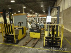 Lot of Lift Trucks and Pallet Jacks
