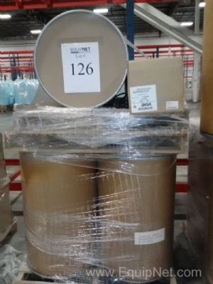 Lot of Greif Fiber Drums with Lids