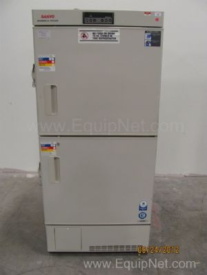 Sanyo MDF-U537 Double Door Biomedical Freezer