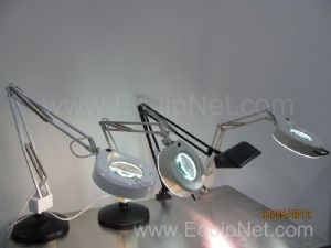 Lot of 4 UL Portable Lamps