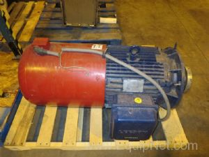60 HP Motor Drive And Gear Box For A Gerstenberg And Agger MPU Rotor