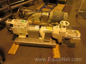 Waukesha Sanitary Stainless Steel Positive Displacement Pump
