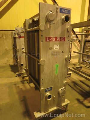 Cherry Burrell Thermaflex Stainless Steel Plate and Frame Heat Exchanger - Line 10