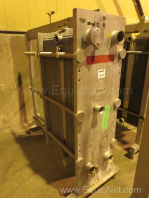 Cherry Burrell Thermaflex Stainless Steel Plate and Frame Heat Exchanger - Line 12