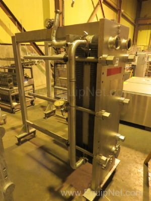 Cherry Burrell 435SBL Thermaflex Stainless Steel Plate and Frame Heat Exchanger