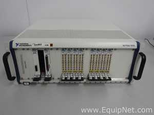 National Instruments NI PIXe-1075 Chassis With Assorted Modules