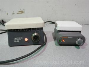 Lot of 2 Assorted Corning Hot Plates