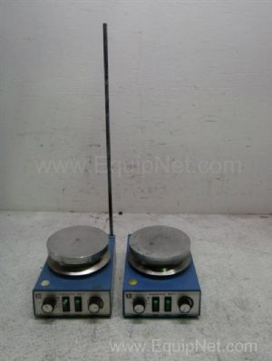 Lot of 2 IKAMAG RCTS19 Stirring Hot Plate