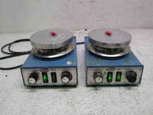 Lot of 2 Tekmar RCTS21 Stirring Hot Plates