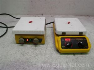 Lot of 2 Thermolyne Stirring Hot Plates