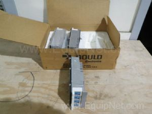 Lot of 3 Gould Electronics ASB553101 PLC True Hi Input Modules