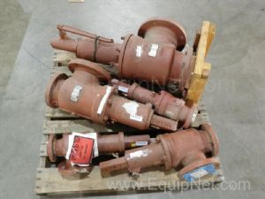 Lot of 5 Teledyne Fluid Systems Assorted Valves