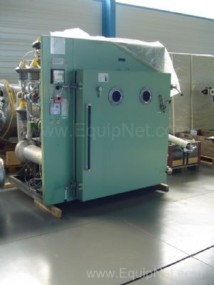 12.36 m2 Vacuum Drying Oven with 12 Shelves
