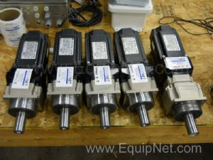 Allen Bradley AC Servo Motor with Apex Gear Reduction Lot of 5
