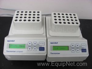 Lot of 2 Eppendorf 5350 Thermomixers