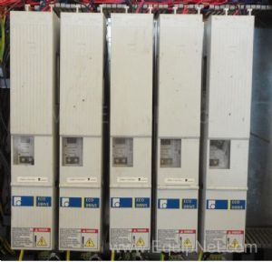 Lot of 5 off Indramat Servo Drives DKCO2.3-040-7-FW with Firmware Module FWA-ECODR3-SGP-01VRS
