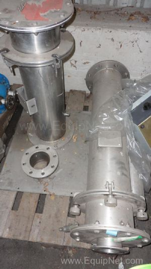 Pacovske Strojirny Powder Filling system Stainless steel Vacuum Jet Filter Vessel in 2 pieces
