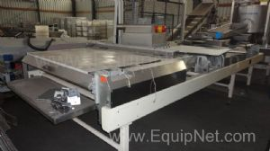 Hitech Variable speed Packing Discharge Conveyor fitted with Indramat Servo Motors