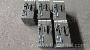 Lot of 5 off Sanyo Denki SMS 10 Servo Drives Type SMS108001S002
