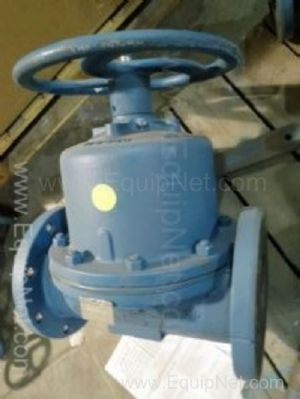 ITT FIG 2831-2-ST52 6 Inch Diaphragm Valve