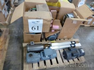 Lot Of Motors, Servo Controller, Gear Boxes, Cylinders